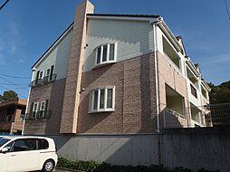 愛知県岡崎市伊賀町字南郷中の賃貸アパートの外観