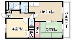 愛知県名古屋市緑区亀が洞1の賃貸マンションの間取り