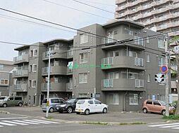 北海道札幌市東区北十二条東5丁目の賃貸マンションの外観