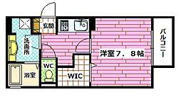(仮)D-room下祇園駅前[102号室]の間取り