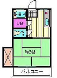 信和荘[2階]の間取り