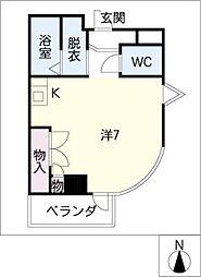 ハウスソヨカゼ[3階]の間取り