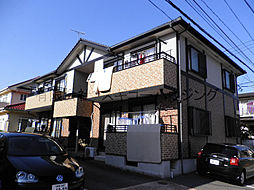 神奈川県平塚市徳延の賃貸アパートの外観