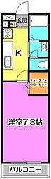 エリタージュII[3階]の間取り