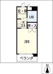 ITO・BLD[5階]の間取り