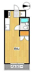 オレンジコート厚木[4階]の間取り