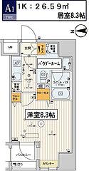 東京都江東区千石2丁目の賃貸マンションの間取り