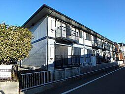 埼玉県上尾市中妻5丁目の賃貸アパートの外観