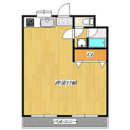 Mansion YAMAOKA No.2[3階]の間取り