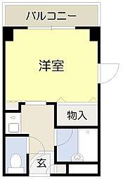 ベルビューレ千里山壱番館[203号室]の外観