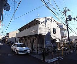 京都府京都市右京区西京極下沢町の賃貸アパートの外観