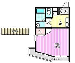 SPビル[2階]の間取り