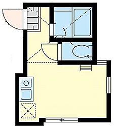 ユナイト保土ヶ谷バルジェロの杜[2階]の間取り