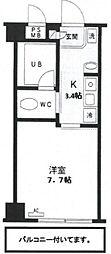 KS−DIO(リノベーション)[703号室号室]の間取り