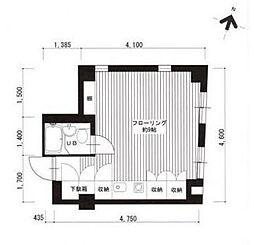 広尾レジデンスC棟[2階]の間取り