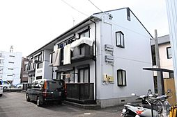 静岡県静岡市駿河区中原の賃貸アパートの外観