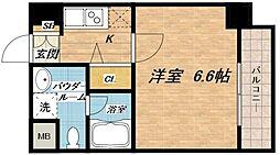 ジアコスモ大阪城南[7階]の間取り