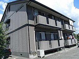 ファミールカワテA棟[1階]の外観