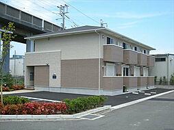 ユニベール神戸[1階]の外観