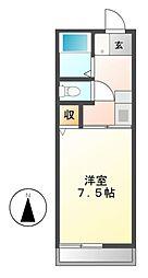 ファースト明寿[2階]の間取り