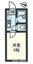 イル川崎大師[203号室]の間取り