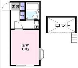 オッコララ№4[1階]の間取り