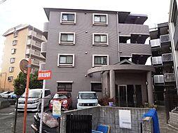 大阪府摂津市鶴野2丁目の賃貸マンションの外観