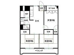 田代マンション[5階]の間取り