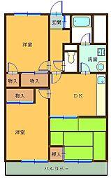 第5小池ビル[304号室]の間取り