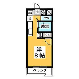 メゾン・ド・サクレ[3階]の間取り