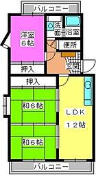 エクセルN86[2階]の間取り