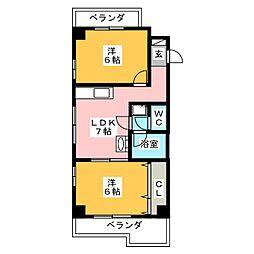 第7加藤ビル[4階]の間取り