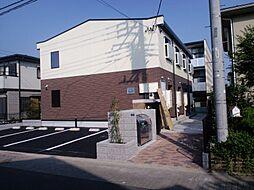 東京都八王子市みなみ野5丁目の賃貸アパートの外観