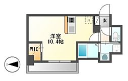 仮)ハーモニーレジデンス名古屋新栄[4階]の間取り