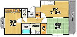 ビジョットハウス[2階]の間取り