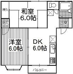 AMI[2階]の間取り