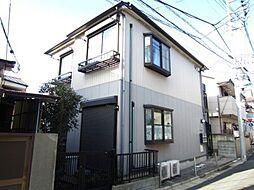 東京都北区上中里2丁目の賃貸アパートの外観