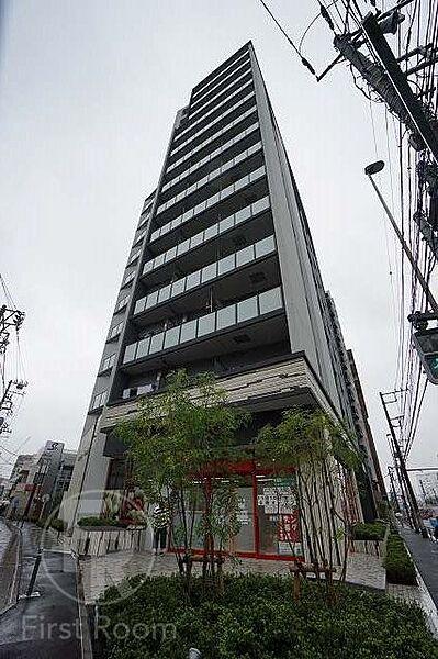 東京都品川区南品川5丁目の賃貸マンションの外観