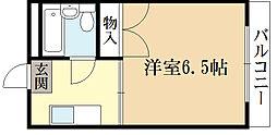 HRKスポーツレジデンス[4階]の間取り