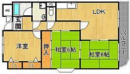 コンフォートステージII[1階]の間取り