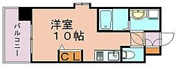 エンクレスト奈良屋[6階]の間取り