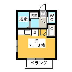 サン・friends八事[2階]の間取り