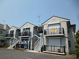 東京都東大和市芋窪3丁目の賃貸アパートの外観