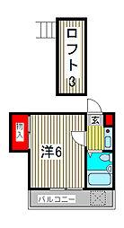 エニーセ南2号棟[1階]の間取り