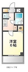 ハウス幕張[3階]の間取り