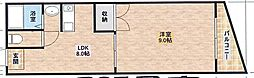 KTマンション[205号室]の間取り