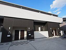 大阪府堺市東区日置荘西町6丁の賃貸アパートの外観