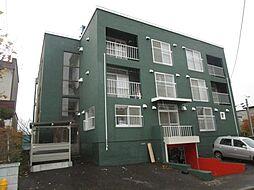 北海道札幌市西区発寒十五条2丁目の賃貸マンションの外観