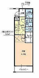 フジパレス初芝駅南III番館[1階]の間取り