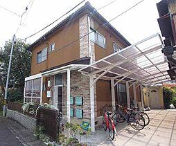 京都府京都市左京区山端森本町の賃貸アパートの外観